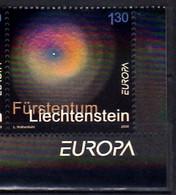 2009 Liechtenstein Europa CEPT Astronomy 1v With Tab MNH** MiNr. 1505 Supernova Galaxy, Hologramm, - Europa-CEPT