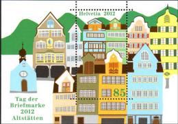 2012 Switzerland / Schweiz - Day Of Stamp / Briefmarken Tag- MS Paper MNH** MiNr. 2279 (Block 51) - Sonstige