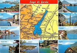 Italy Lago Di Garda Multiviews Tignale Tremosine Riva Manerba Punta S. Felice - Other