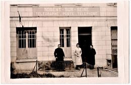 NOGENT-sur-SEINE (10) CARTE PHOTO. TELEGRAPHE. POSTE. TELEPHONE. - Nogent-sur-Seine