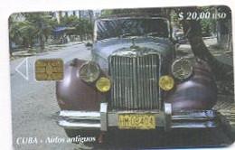 CUBA, Used Chip Phonecard, In Perfect Condition, Autos Antiguos, # Cuba-172 - Cuba