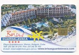 CUBA, Used Chip Phonecard, In Perfect Condition, Brisas, Guardalavaca, # Cuba-183 - Cuba