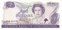 BILLETE DE NUEVA ZELANDA DE 2 DOLLARS DEL AÑO 1981-85 (BIRD-PAJARO) SIN CIRCULAR (UNCIRCULATED) - New Zealand