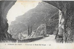 48 - Lozère - GORGES Du TARN - Tunnel Sur La Route Des Gorges - - Gorges Du Tarn