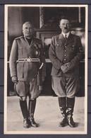 Deutsches Reich - 1941 - Propagandakarte - München Mit Sonderstempel - Der Führer Und Der Duce - Deutschland