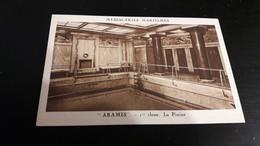 Bateaux Messageries Maritimes Aramis 1ere Classe La Piscine - Steamers