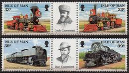 ISLE OF MAN 1992 Construction Of Union Pacific Railroad - Isola Di Man