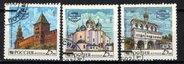 RUSSIA - 1993 - MONUMENTI DELLA RUSSIA - USATI - 1992-.... Federation