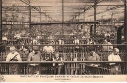 42  SAINT ETIENNE Manufacture Francaise D'Armes Et Cycles Atelier Armurerie CPA écrite En 1925 - Saint Etienne