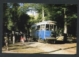 """Carte-photo Moderne """"Tramway De Versailles - Le Service Dominical De Trianon - Années 50"""" - Tram"""