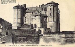 *CPA  - 49 - SAUMUR - Le Chateau - Façade Sud - Saumur