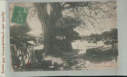 Timbre 5C INDO-CHINE  TONKIN  ANNAM Hué Canal De Dong-Ba (Dieulefils) Viet-Nam   (2020 Septembre 433) - Covers & Documents