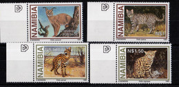 UMM - Endangered Species - Small Wild Cats 1997 - Namibia (1990- ...)