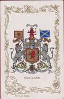 UNITED KINGDOM - Scotland - Ja-Ja Series Heraldic Series Heraldry Heraldiek Schotland Ecosse Wapenkunde - Genealogy