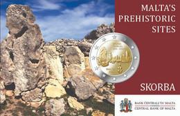 Malte 2020 : 2€ Commémorative 'Skorba' (en Coincard) - Disponible En France - Malta