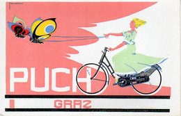 PUCH, F. ZWICKL, PUCHWERKE A. G., GRAZ, WIEN, BICYCLE, FAHRRAD - Pubblicitari