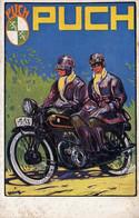 PUCH, F. ZWICKL, PUCHWERKE A. G., GRAZ, WIEN, MOTORRAD, MOTORCYCLE - Pubblicitari