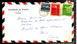 38021 - De L'AMBASSADE DE FRANCE - Covers & Documents