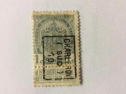 Nr 1435 B Charleroi (sud) 10 - Roller Precancels 1910-19