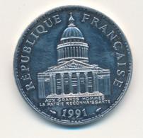 1991 // 100 Francs // Argent - N. 100 Francs