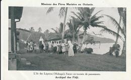 Archipel Des  Fidji L'ile Des Lépreux - Cartoline