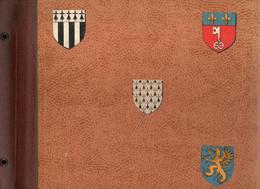 Album  Blasons  Photos Et CPSM Bretagnes Année 1950 - Materiali
