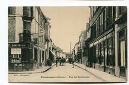 CPA  89 / VILLENEUVE Sur YONNE   Rue Du Commerce  A  VOIR   !!!! - Villeneuve-sur-Yonne