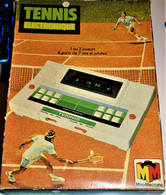 Rare Jeux électronique Tennis Par Miro-Meccano Vintage Années 70-80 Dans Sa Boite D'origine - Autres