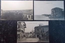 TURQUIE TURKEY SYRIA GREECE BALKAN Postcard Carte Postale CPA  LOT #13/30 : 3 Pc MERSINE MERSINA - Turkey