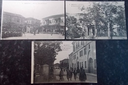 TURQUIE TURKEY SYRIA GREECE BALKAN Postcard Carte Postale CPA  LOT #14/30 : 3 Pc MERSINE MERSINA - Turkey