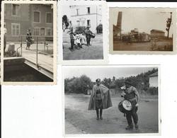 France 1940: 10 Photos Diverses. - Guerre, Militaire