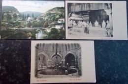 TURQUIE TURKEY SYRIA GREECE BALKAN Postcard Carte Postale CPA  LOT #20/30 : 3 Pc BROUSSE BURSA - Turkije