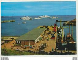 AK  Schiffe Helgoland Zollamt 1977 - Barcos