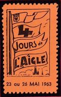 Vignette 61 ORNE L' AIGLE Les 4 Jours De L' Aigle 23 Au 26 Mai 1963 - T41 - Otros