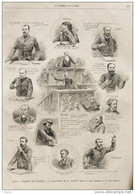 Paris - Chambre Des Députés - La Validation De M. Joffrin - J. Reinach -  Page Original 1889 - Documenti Storici