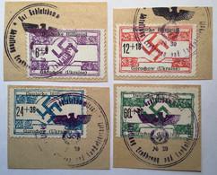 Deutsche Besetzung Ukraine 1944 Rare Gorochow Mi17-20 Hilfspostausgabe (D.R Germany Russie Russia WW2 War Guerre 1939-45 - Occupazione 1938 – 45