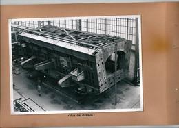Dossier Photo Compagnie Fives Lille Four Martin Basculant De 170 T Type Wellman Pour UCPMI Hagondange 1953 - Altri