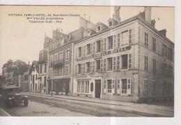 CPA-64-Pyrénées Atlantiques- PAU- Victoria Family Hôtel, 46 Rue Henri-Faisans- Mme Vallée Propriétaire- - Pau