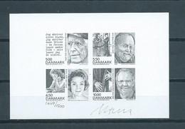 2008 Denmark Signed Limited Edition 1009/1500 Martin Mörck,personalities - Probe- Und Nachdrucke