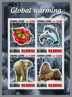 SIERRA LEONE 2020 MNH Butterfly Schmetterling Papillon Global Warming M/S - OFFICIAL ISSUE - DHQ2040 - Butterflies