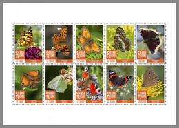 SIERRA LEONE 2020 MNH Butterflies Schmetterlinge Papillons M/S - OFFICIAL ISSUE - DHQ2040 - Butterflies