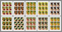 SIERRA LEONE 2020 MNH Butterflies Schmetterlinge Papillons 10M/S - OFFICIAL ISSUE - DHQ2040 - Butterflies