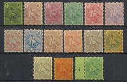 Guinée - 1904 - N°Yv. 18 à 32 - Type Berger Pulas - Série Complète - Neuf * / MH VF - Neufs