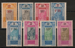 Guinée - 1924-27 - N°Yv. 99 à 106 - Série Complète - Neuf * / MH VF - Neufs