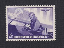 470-V ** (MNH) -- Koningin Leopold III Vliegenier -- V: Streepje Onder De U -- OBP € 65,00 - Errors (Catalogue COB)