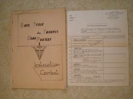 Livret ETAP De Pau - Parachutiste - Années 50'. - Dokumente