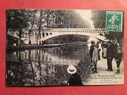 MORET SUR LOING  Concours De Pêche  Du 10 Juillet 1910  AQUEDUC DE LA VANNE - Pêche