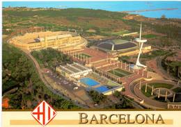 Postcard Stadium Barcellona Olimpico De Montjuic Stadion Stadio - Estadio - Stade - Sports - Football  Soccer - Fútbol