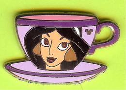 Pin's BD Disney Tasse Jasmine (Aladdin) - 3F29 - Disney