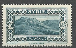 SYRIE N° 162 NEUF** LUXE  SANS  CHARNIERE / MNH - Nuevos